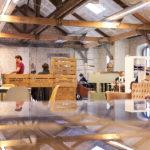 Exemple de bureaux dans l'espace de coworking de Darwin